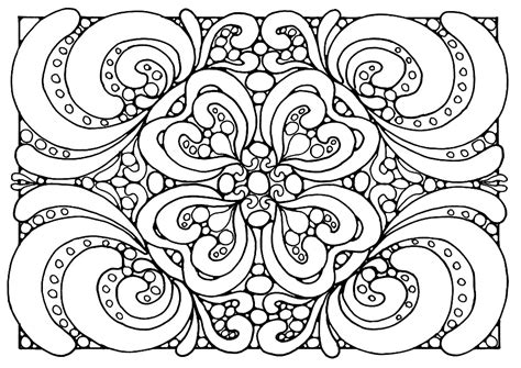 coloring pages for adults abstract flowers coloring pages for adults abstract