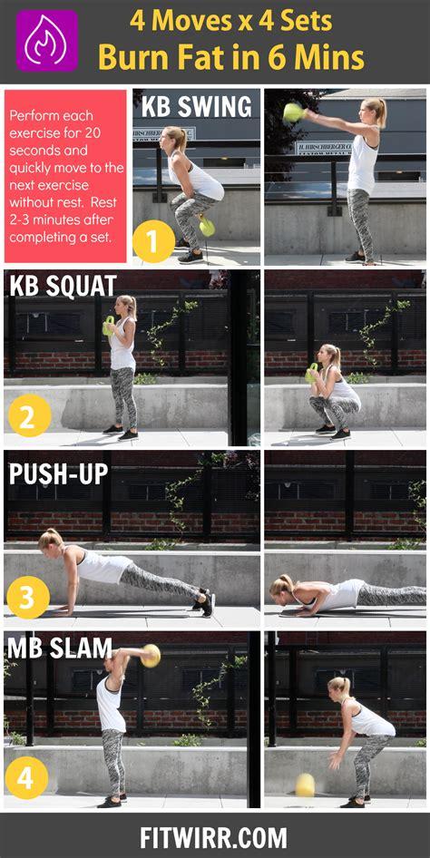 weight loss kettlebell workout 6 minute kettlebell workout for weight loss