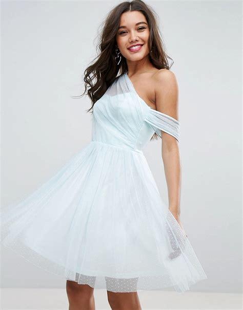 Asos Robe Blanche Courte - asos robe de bal de fin d 233 e courte et asym 233 trique en