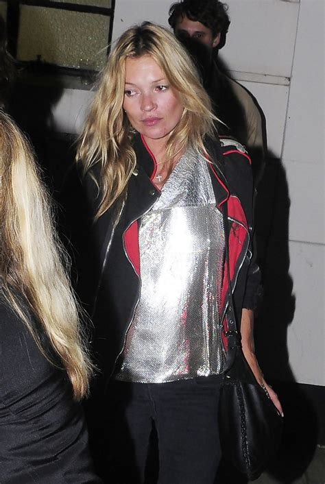 Kate Moss Spices Up by Kate Moss In Kate Moss At Maida Vale Studios Zimbio