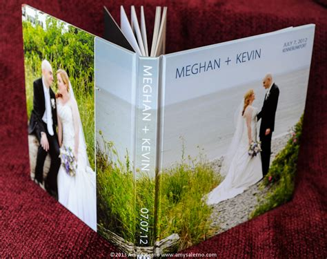 Wedding Photo Book by Books 171 Maine Wedding Photographer Salerno