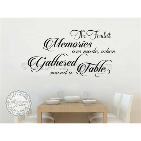 Kitchen Wall Stickers Quotes kitchen wall art quote sticker dining room love decal