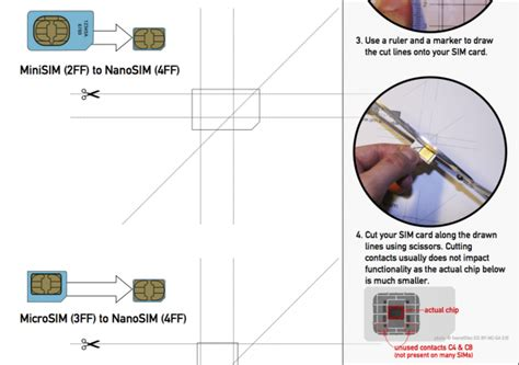 how to cut a standard sim to nano sim etechspace newsftsw