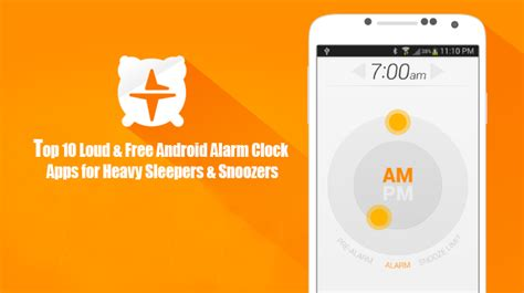 Best Alarm App For Heavy Sleepers by Top 10 Loud Free Android Alarm Clock Apps For Heavy