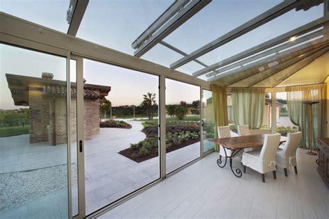 verande scorrevoli top vetrate scorrevoli per verande with vetrate scorrevoli