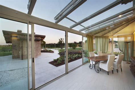 vetrate per verande top vetrate scorrevoli per verande with vetrate scorrevoli