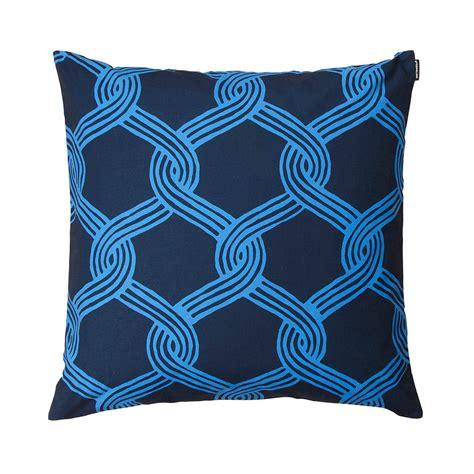 Marimekko Pillows Sale by Marimekko Sulhasmies Blue Throw Pillow Marimekko Sale