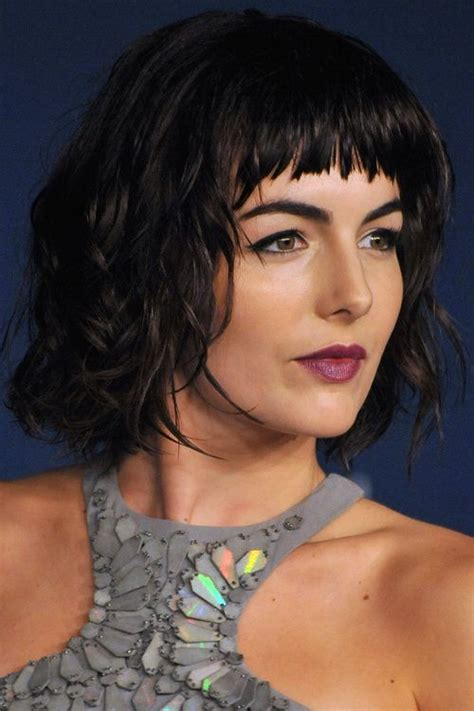 swoop bangs with short curly hair 1000 ideas about curly hair with bangs on pinterest