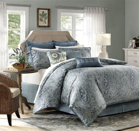 king paisley comforter set irresistable paisley bedding the home bedding guide