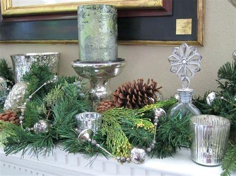gartenideen mit gräsern tischdeko zu weihnachten in silber und gra 1 4 n 29 ideen
