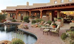 arizona style homes patio arizona and traditional homes on pinterest