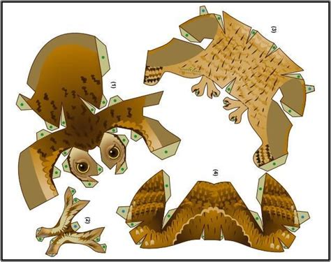 Papercraft Owl - 1000 images about paperdolls animals on