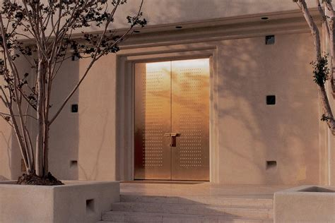 Bronze Door by Fused Metal Doors Architectural Forms Surfaces India