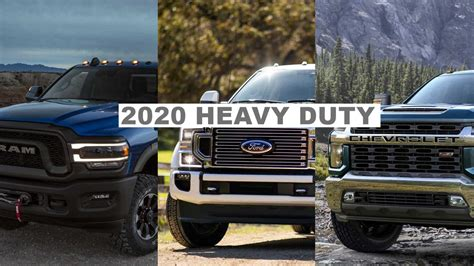 2020 Dodge Ram Hd by 2020 Ram Hd Ford Duty Vs Chevy Silverado Hd