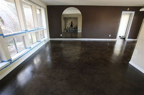concrete living room floor 78 best images about decorative concrete stains on