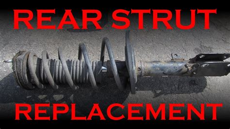 how to replace rear shocks buyautoparts com youtube rear strut replacement toyota lexus youtube