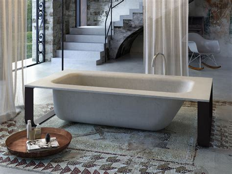 concrete bathtubs freestanding bathtub concrete bath by glass 1989
