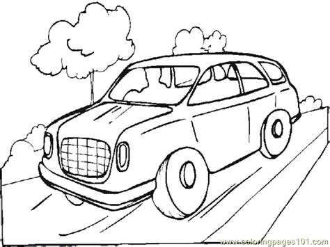 free coloring pages of land transport
