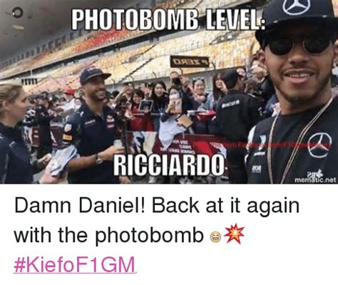 Is At It Again by Photobomblevel Osas A Ricciardo Damn Daniel Back At It