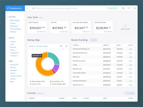 dashboard design mockup financial dashboard ui mockup by kevin haag dribbble