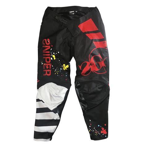motocross gear singapore sg motocross pants black red sg mx sniper gang apparel