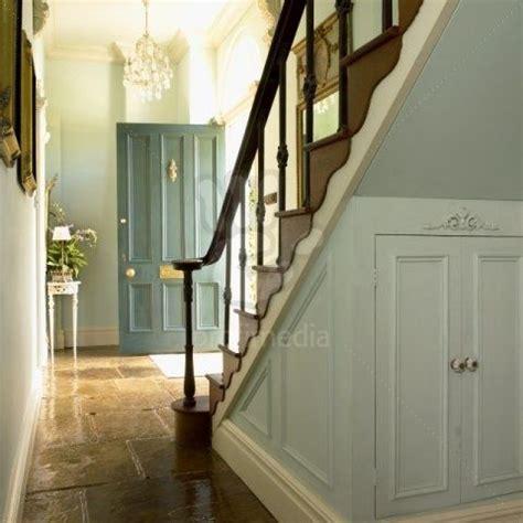 georgian hallway  flagstone floors georgian interiors