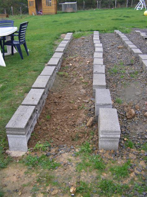 terrasse composite lambourde composite sur parpaing pour terrasse boi from
