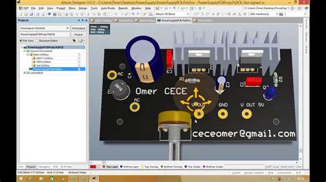 pcb design tutorial video altium designer tutorial schematic pcb library and pcb