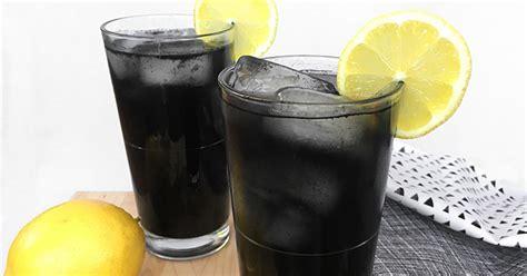 charcoal lemonade recipe  powerful cleansing drink