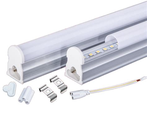 Led Fluorescent Light Bulbs 10pcs Lot Integrated T5 Led Light 600mm 10watt 2ft 1150lm Led Fluorescent Replacement