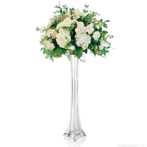 Cheap Tower Vases by Clear Eiffel Tower Vases Glass Vases 16 Inch 16