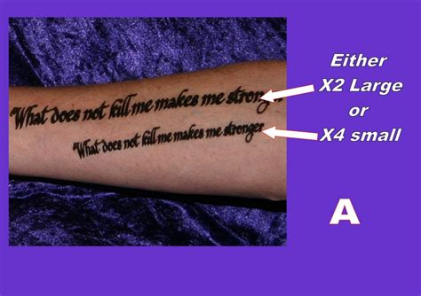 tattoos on the inside of your arm tattoos inner arm forearm personalised your own quote