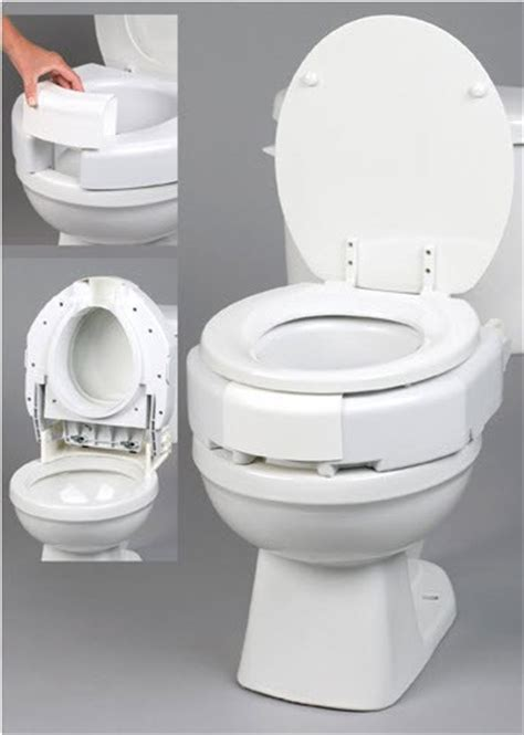 secure toilet seat secure bolt hinged elevated toilet seat raised toilet seats