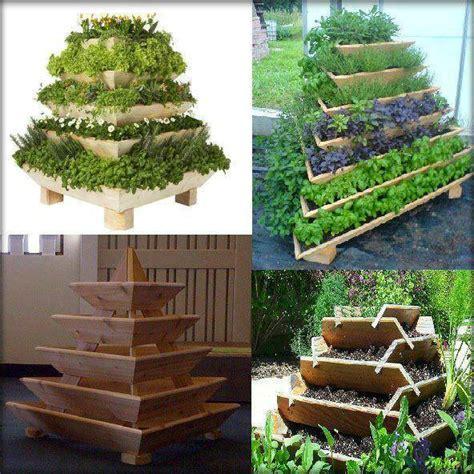 diyhowto diy vertical pyramid tower garden planter