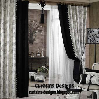 Black White Curtains Black And White Curtains Top 10 Designs Of Black And White Curtains