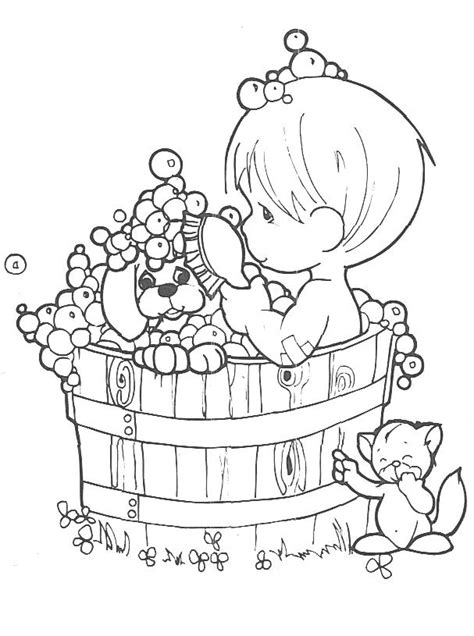 coloring pages precious moments printable precious moments baby boy coloring pages