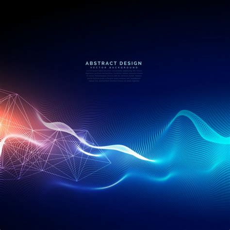 design effect abstract technology background with light effect vector