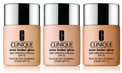Foundation Clinique Even Better clinique even better glow light reflecting makeup spf 15