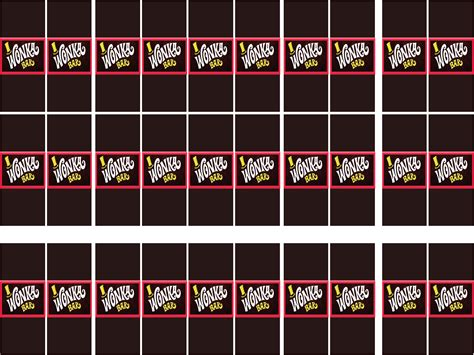 willy wonka bar wrapper template s big willy wonka birthday for s 8th