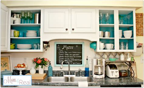 open kitchen cabinet ideas decorating ideas aqua love mom 4 real