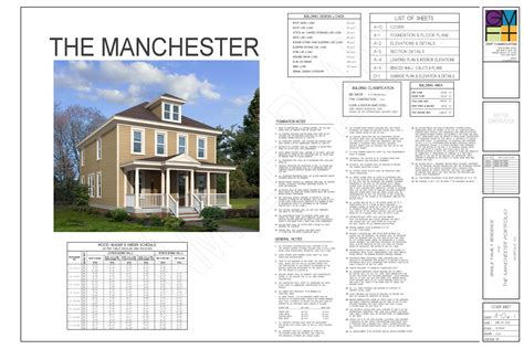 sle plan set gmf architects house plans gmf