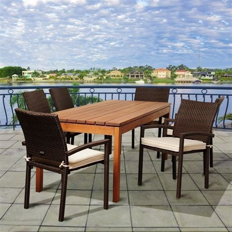 international home amazonia 7 patio dining set sc
