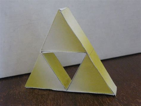 Triforce Papercraft - triforce papercraft by ganon destroyer on deviantart