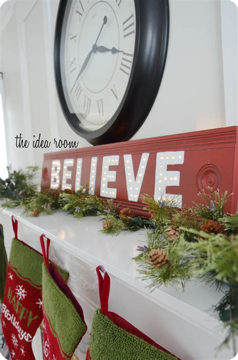 believe holiday decoration diy decorations