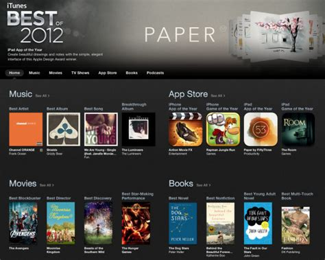 12 Of The Best Apps - best apps of the year 2012
