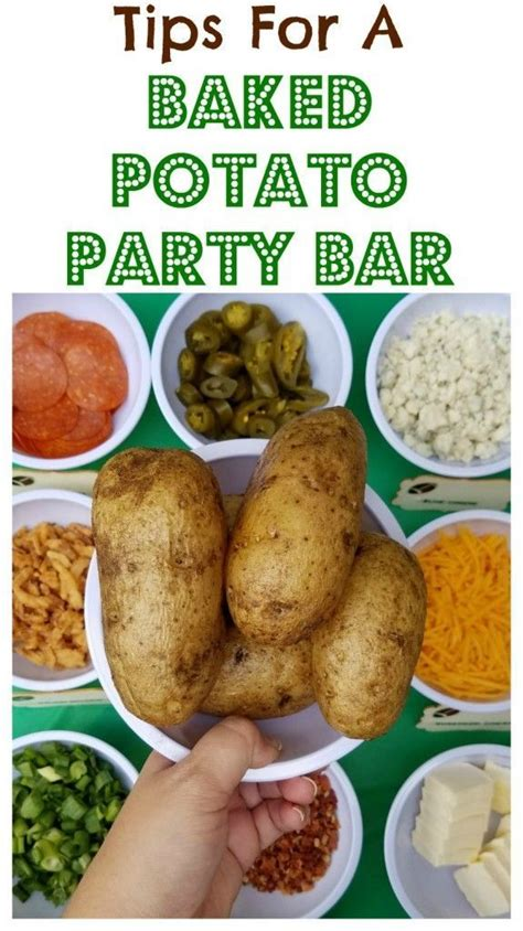 baked potato bar topping ideas 36 best entertaining tips images on pinterest party time