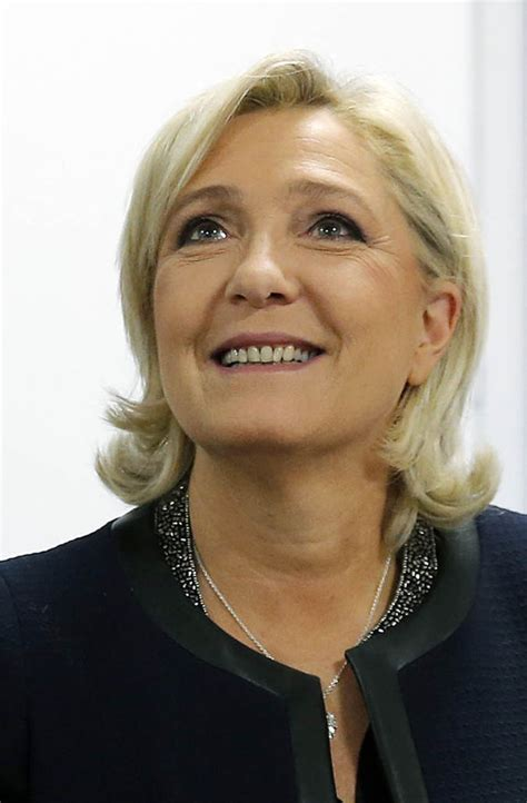 marine le pen marine le pen french far right politician has donald