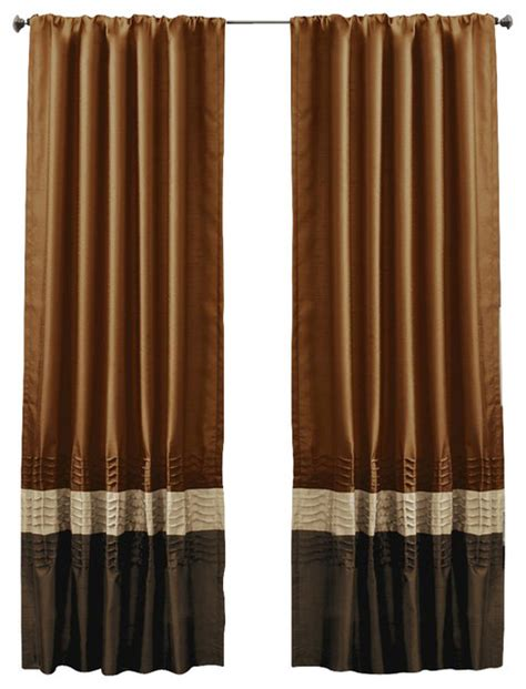 Rust Colored Curtains Brown And Rust Colored Curtains For Bedroom Pictures To Pin On Pinterest Pinsdaddy
