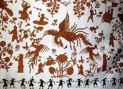 Patung Dewa Tua Ya Pe Dan Da Ya Pe Fiber batik pekalongan ranting budaya