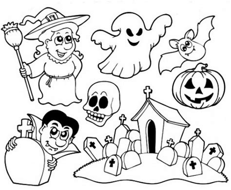 halloween preschool coloring pages print 521738 171 coloring